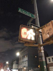 Crosswalk Ainslie
