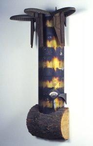 Pyro sculpture by David Krueger